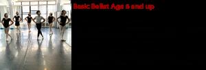 basic Ballet slidder